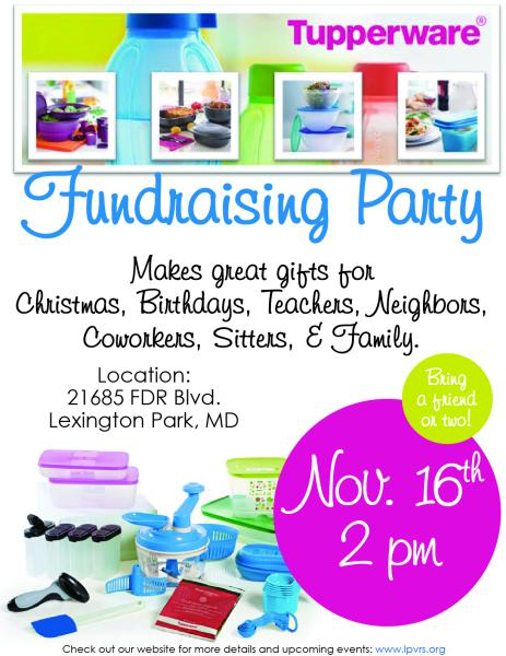 tupperware fundraising party