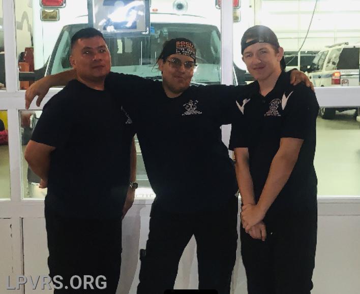 Pictured L to R Jose Lumanian, Bianca Levya-Downs, Austin Hicks